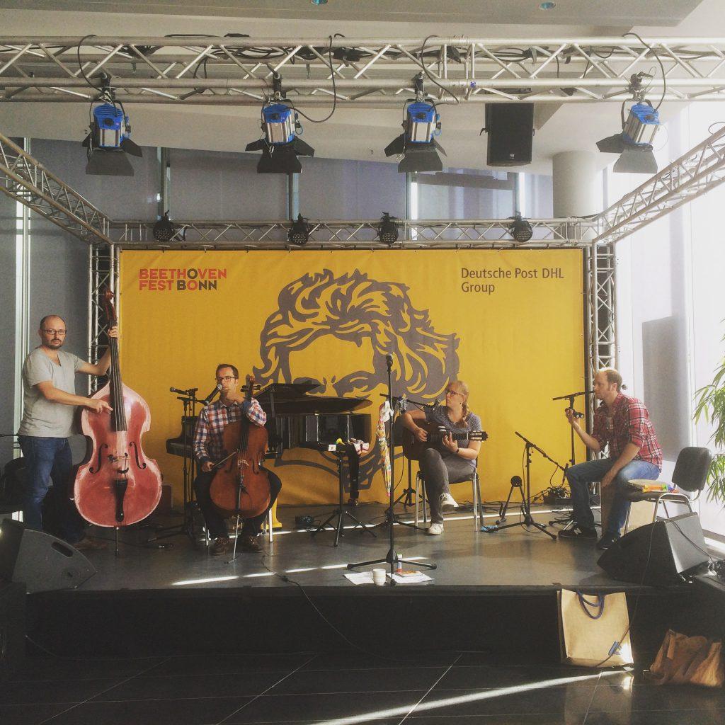 Soundcheck Spatzenschwatzen-Beethovenfest Bonn
